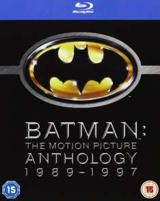 Batman: The Motion Picture Anthology 1989 - 1997 [4 Blu-rays] @zavvi für 15,33€