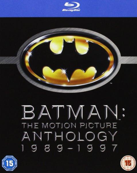 Batman: The Motion Picture Anthology 1989 - 1997 [4 Blu-rays] @zavvi für 15,33€