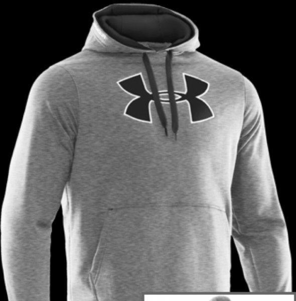 Under Armour (Größe L) Fleece Big Logo Hoody II L