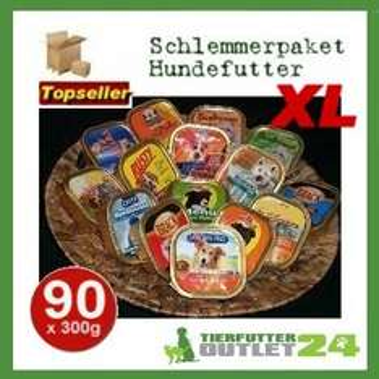 tierfutteroutlet24: 90x 300g Hundefutter für 38,99 inkl. Versand