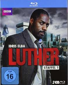 Luther - Staffel 1 & 2 [Blu-ray] für je 11,97 €