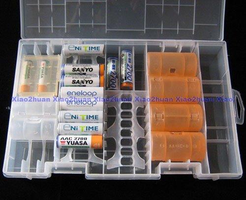 Aufbewahrungsbox für eure Eneloop Akkus für ~4,50€ inkl. Versand @ Ebay