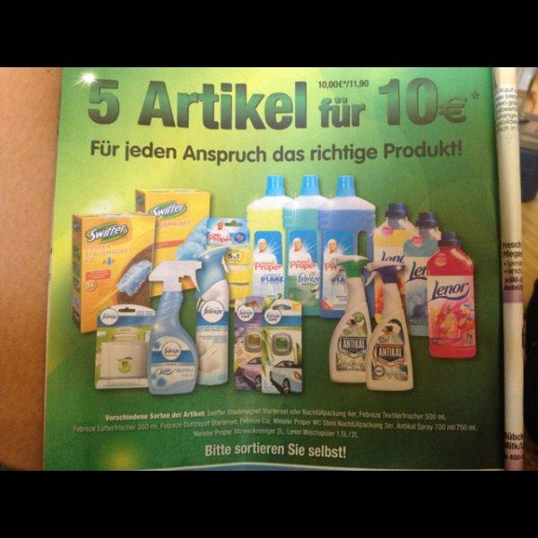 [lokal Mannheim] 5 Haushaltsartikel für 11,90€ @ Metro