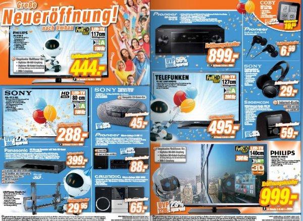 expert Herne: Panasonic TX-L50ETW60 TV 888€,  Pioneer SC-LX76 899€, Devolo dLan 200 AVplus Starter Kit 39€ uvm.