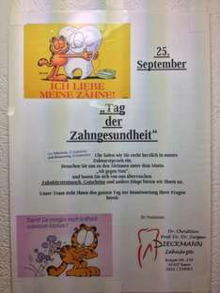 Professionelle Zahnreinigung am Tag der Zahngesundheit am 25.09.2013