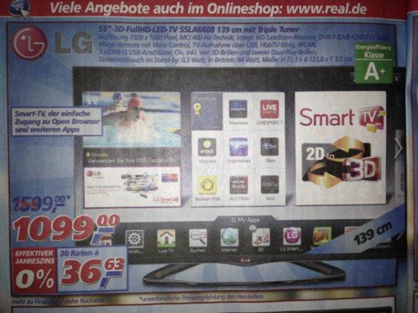 Lg 55LA6608 Real offline durch P.K für 890€ Top