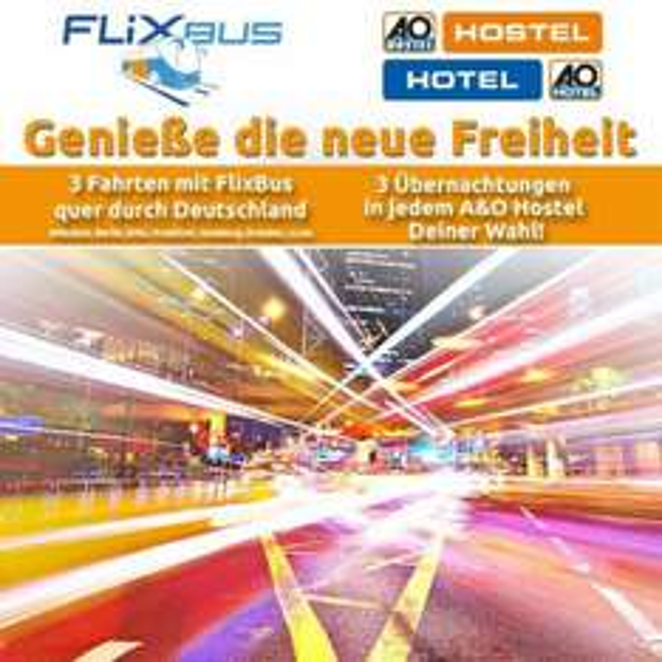 3xFahren 3xSchlafen (Flixbus und A&O Hostel)