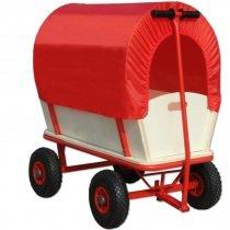 Bollerwagen mit Plane, 150kg belastbar + 1230 Rakutenpunkte