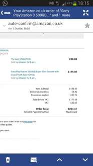 PS3 + GTA 5 + The Last of us (uk)