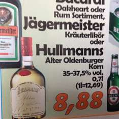 [lokal Oldenburg] Hullmanns Alter Oldenburger Korn für 8,88,-€