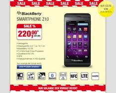 [Metro] Blackberry Z10 261,80€ 26.09-09.10