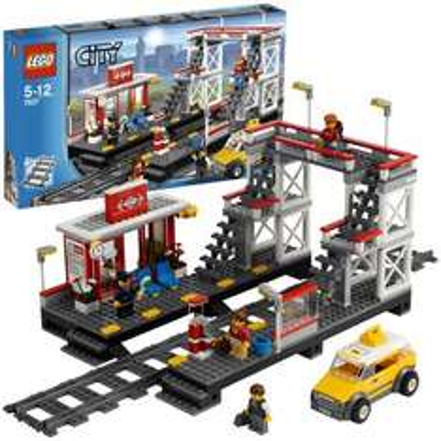 buecher.de: LEGO City 7937 - Bahnhof für nur 26,99 Euro
