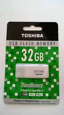 32Gb USB 2.0 Stick Toshiba durch Preisvorschlag @ebay für 11€