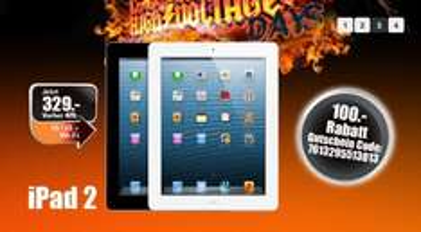 [Schweiz - Melectronics] iPad 2 - 16GB - 329 Fr - 267 Euro