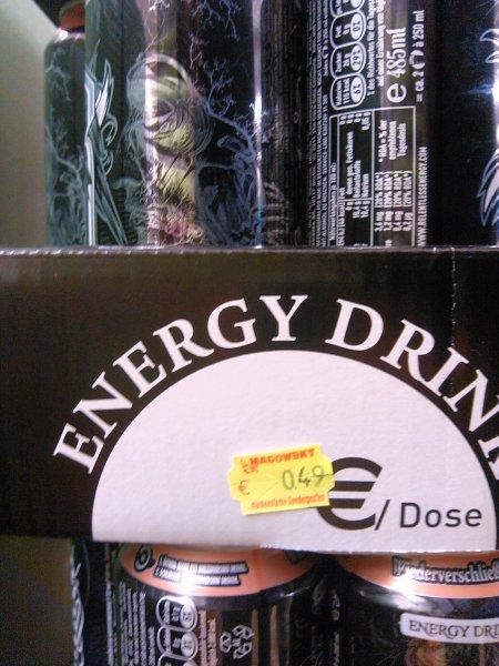 [Lokal] Magowsky Horn: Energy Drink Relentless Origin Wiederverschließbar