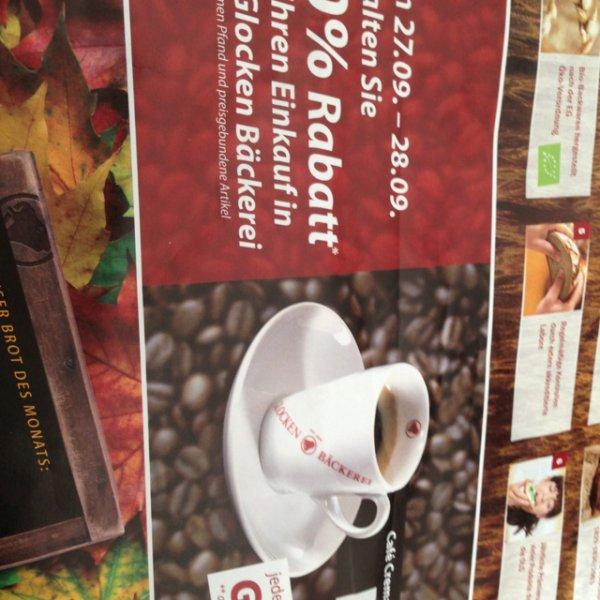 Rewe glocken bäckerei 50% auf ihren einkauf local ffm