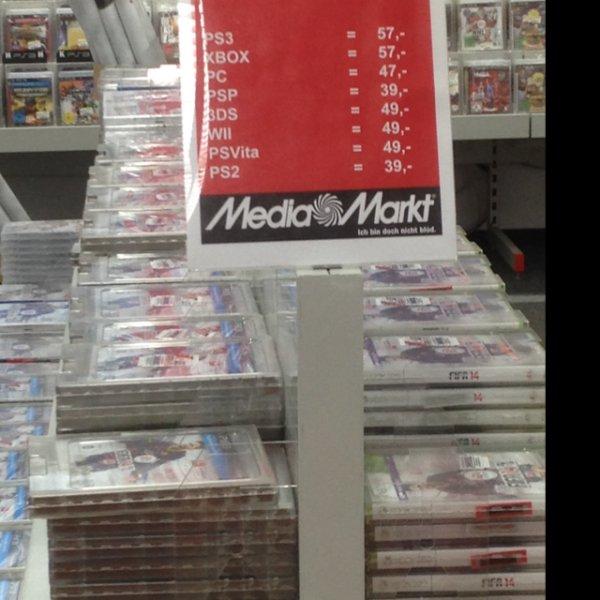 (Lokal) Fifa 14 Media Markt Nedderfeld PS3 57€