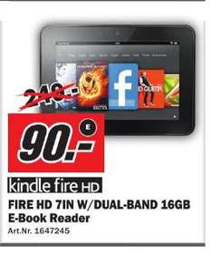 [ Media Markt Wuppertal ]  Amazon Kindle Fire HD 16GB  90€