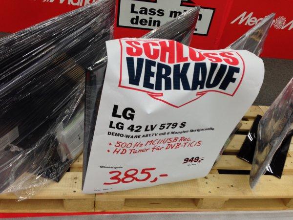 [Lokal]LG 42lv579s  MediaMarkt Leipzig  Paunsdorf Center