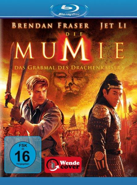Die Mumie: Das Grabmal des Drachenkaisers für nur 4,90 EUR inkl. Versand [Blu-ray]