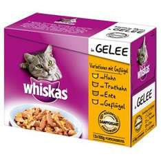 Real - Online Shop - Whiskas Portitionsbeutel 12 er MP Variationen für 2,99 Euro + 4,95 Euro VSK,