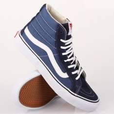 VANS SK8-HI SLIM NAVY TRUE WHITE