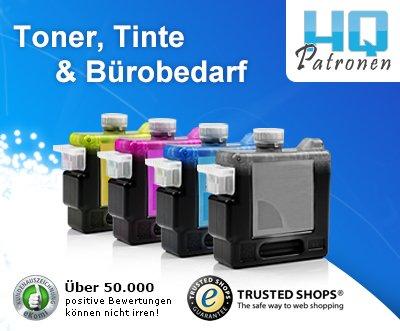 Tinte, Toner, Patronen mit Sparpotenzial - 60% - noch 24h!