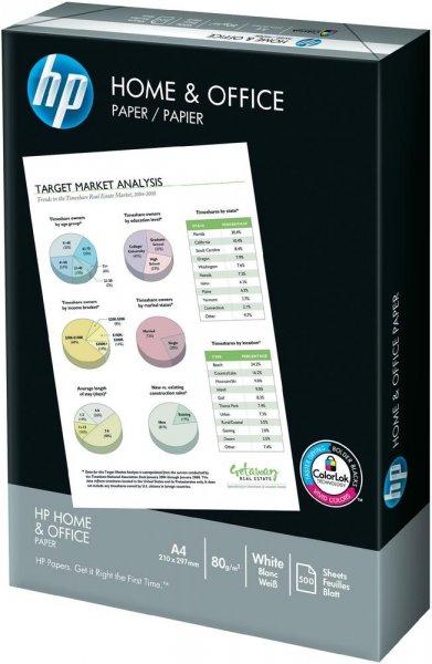 Druckerpapier HP Home & Office - 500 Blatt für 2,21€ bei 11 Packungen - Insgesamt 5500 Blätter @ voelkner