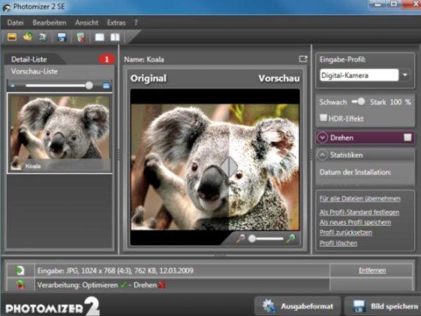 Gratis Vollversion von Photomizer 2 SE nur am 26.09.13 bei PC-Welt