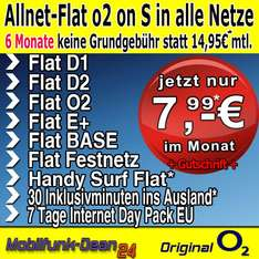 o2 on Business S nur 7,99€