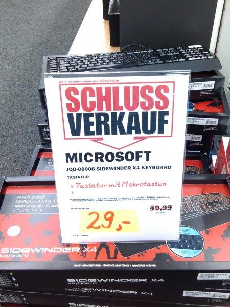 [MM Köln Kalk] - Tastatur Microsoft Sidewinder X4