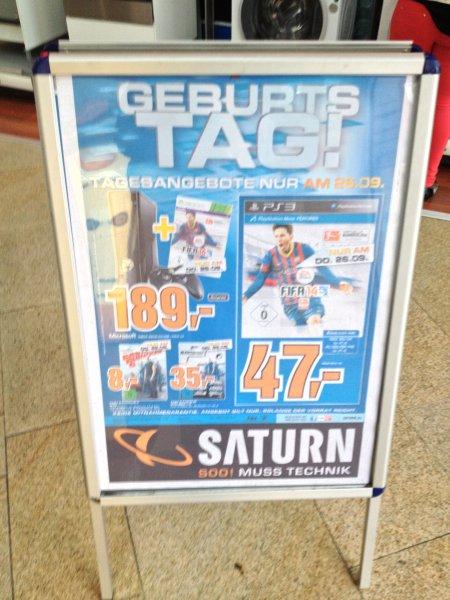 [LOKAL Saturn Osnabrück] FIFA14 (PS3/Xbox360) für 47€ bzw. 31,33€ (3-für-2)