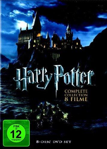 Harry Potter Komplettbox auf 8 DVDs für nur 19,97 EUR inkl. Versand