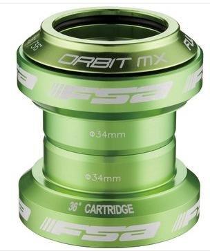 """Fahrrad-Steuersatz FSA Orbit MX Limited Edition (farbig eloxiert) 1 1/8"""" Ahead"""