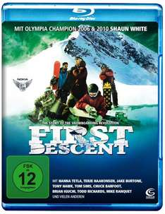 First Descent - The story of the snowboarding revolution [Blu-ray] @Amazon.de