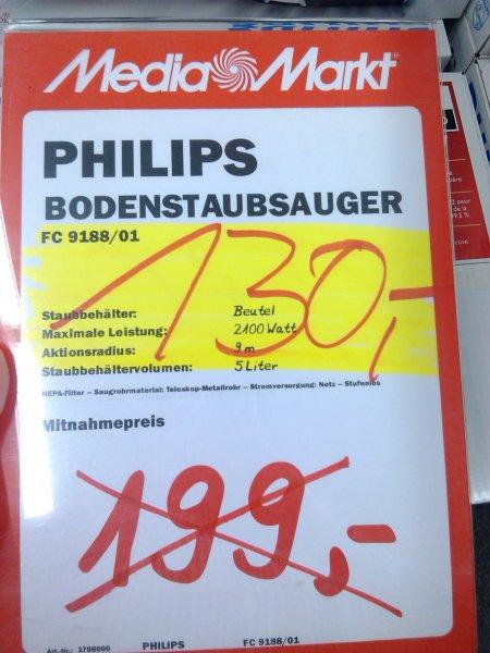 [MM Duisburg-Großenbaum] Philips FC 9188 Staubsauger