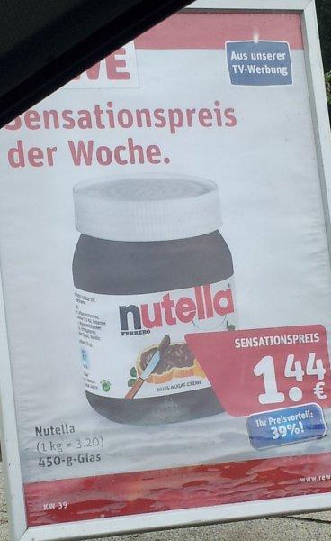 Nutella 450 g Glas REWE