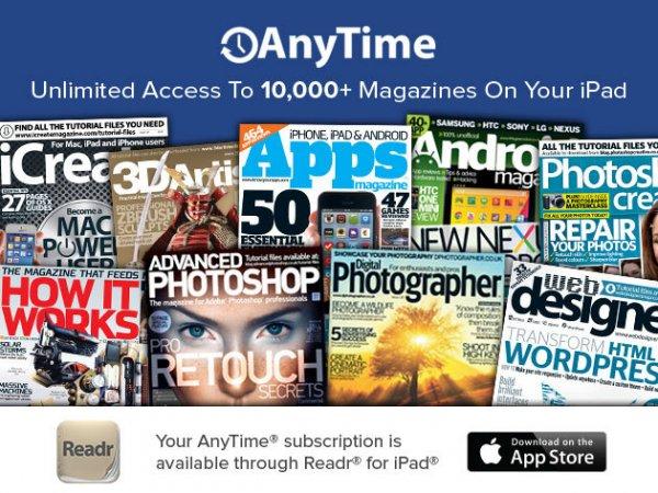 3 Monate Zugriff auf 10,000 Magazine [iPad]