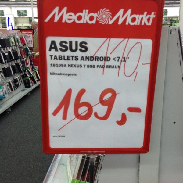 (Lokal Siegen) Asus Nexus 7 8gb