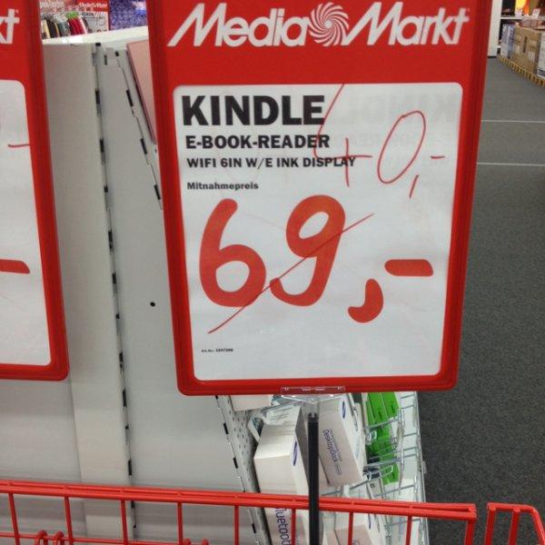 (Lokal MM Siegen) Kindle E-Book reader