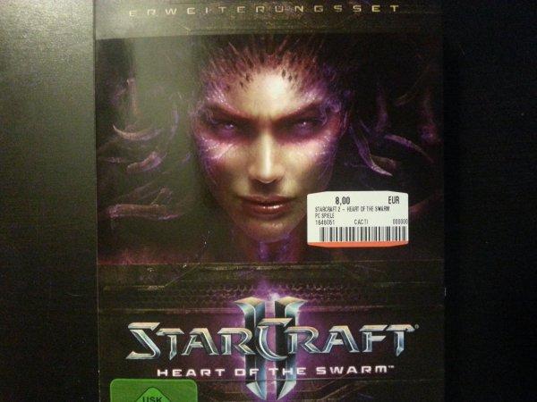 [Lokal MM Frechen] Starcraft 2 - Heart of the Swarm für nur 8€!