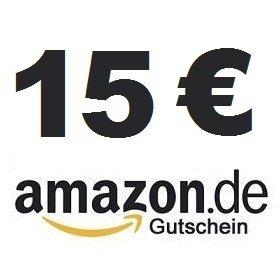 15 Euro Amazon Gutschein für 9,99