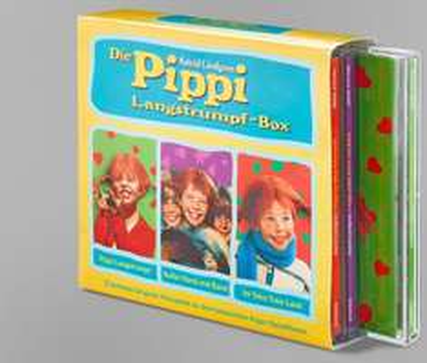"""[Tchibo.de] Für die Kiddys: CD-Hörspiel """"Die Pippi Langstrumpf-Box"""" (Filiallieferung)"""