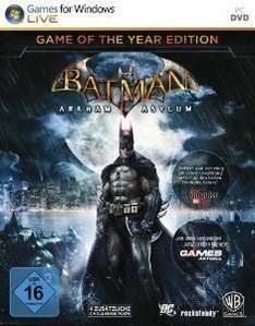 [Steam] Batman Arkham Asylum: Game of the Year Edition @GreenManGaming