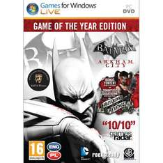 [Steam] Batman Arkham City: Game of the Year