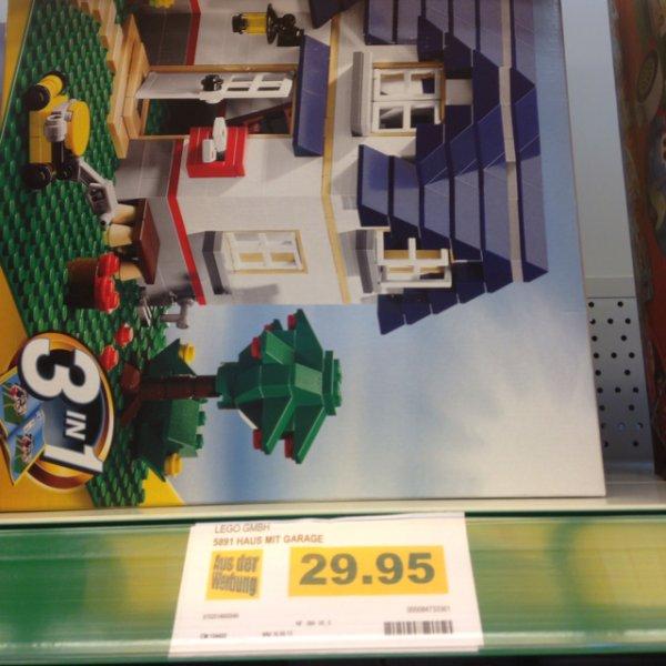 [Lokal] Marktkauf Bad Salzuflen 5891 Lego Haus mit Garage 29,95