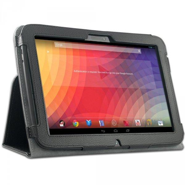 EasyAcc Case aus Kunstleder für Nexus 10