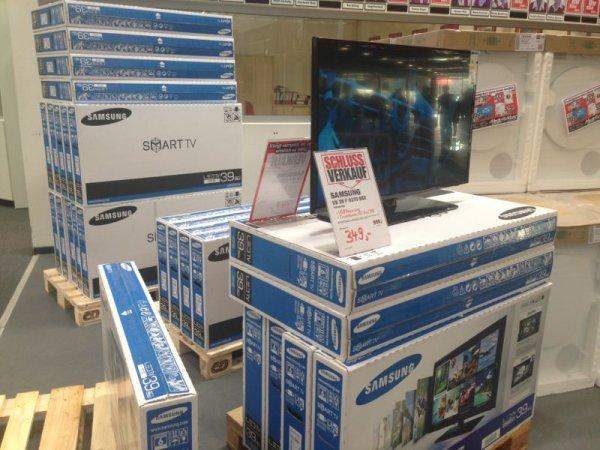 Samsung UE39F5370 98 cm (39 Zoll) LED-Backlight-Fernseher TrippleTuner @ MediaMarkt WÜRZBURG