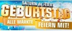saturn.de feiert 2-jährigen Geburtstag: täglich ab 19Uhr Jubelangebote