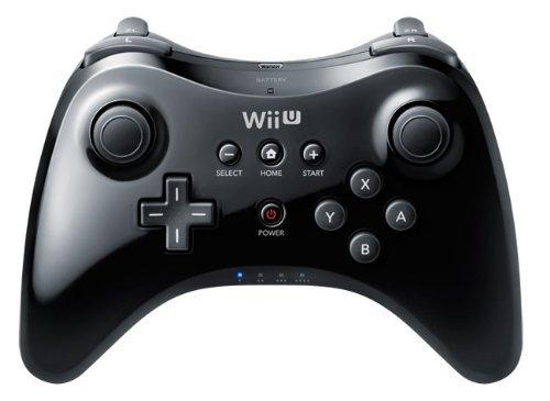 Nintendo Wii U Pro Controller (schwarz) für 30,70 € / 27,73 €